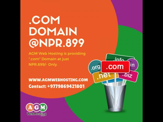 Register Domain in Nepal - AGM Web Hosting
