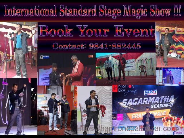 International Standard Live Stage Magic Show