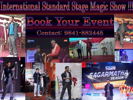 International Standard Live Stage Magic Show