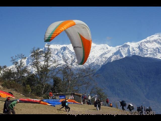 Excellent Trek - Paragliding in Pokhara