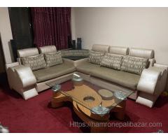 Sofa set with tea table