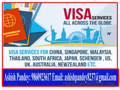 Visa Processing Service For Thailand, Dubai, Malaysia, Europe Etc