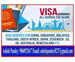 Visa Processing Service For Thailand, Dubai, Malaysia, Europe Etc